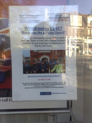 Snaresbrook and Wanstead Safer Neighbourhood Team poster