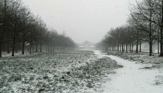 Temple - snow