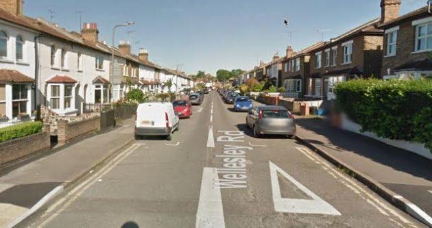 Treeless Wellesley Road. (Picture Google Streetview)