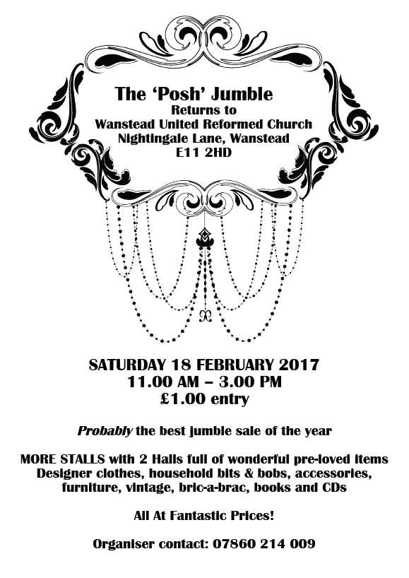 Posh Jumble flyer